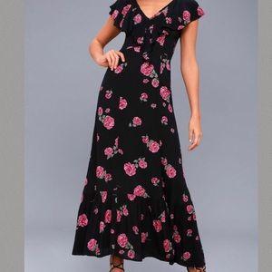 BILLABONG FLORAL MAXI DRESS